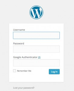 Login with 2-factor authentication