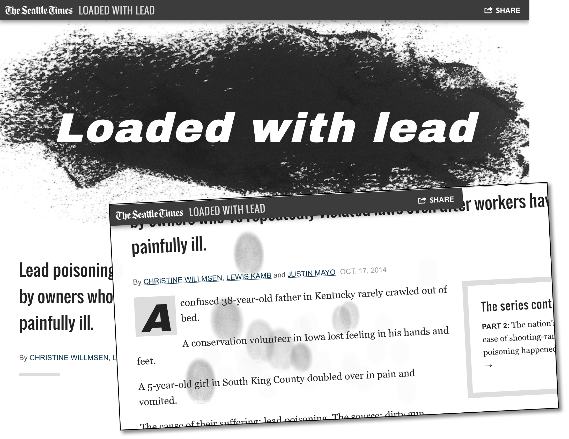 Loaded with Lead